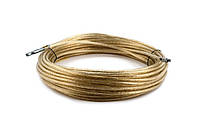 Трос таможенный Ø=6мм( трос пломбировочный) 34,40,42 метра, с наконечниками, на фуру