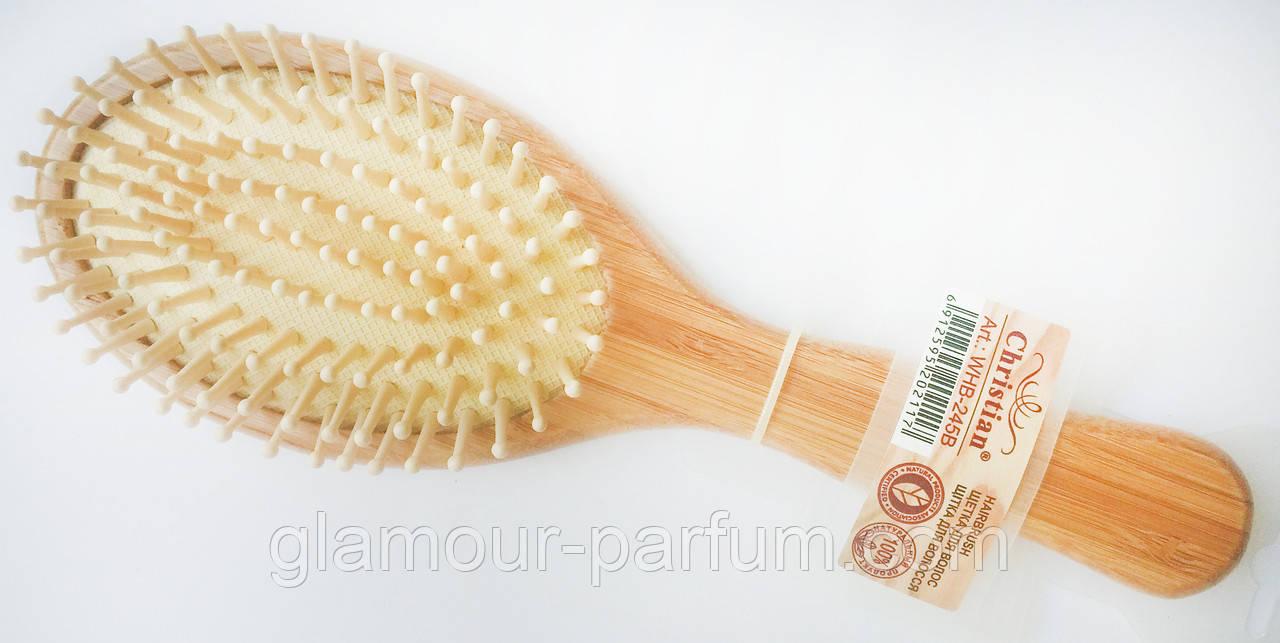 Щетка для волос из натурального дерева