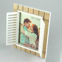 Деревянная фоторамка Для влюбленных
