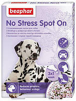 Beaphar No Stress Spot On / заспокійливі краплі від стресу і поганої поведінки для собак / 3 піп.