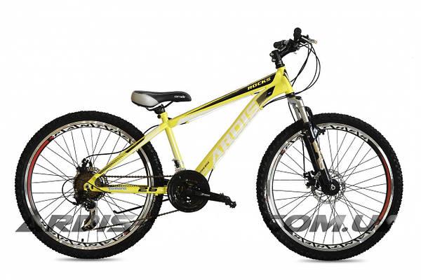 """Горный велосипед ARDIS ROCKS MTB 26"""" 14""""  Желтый"""