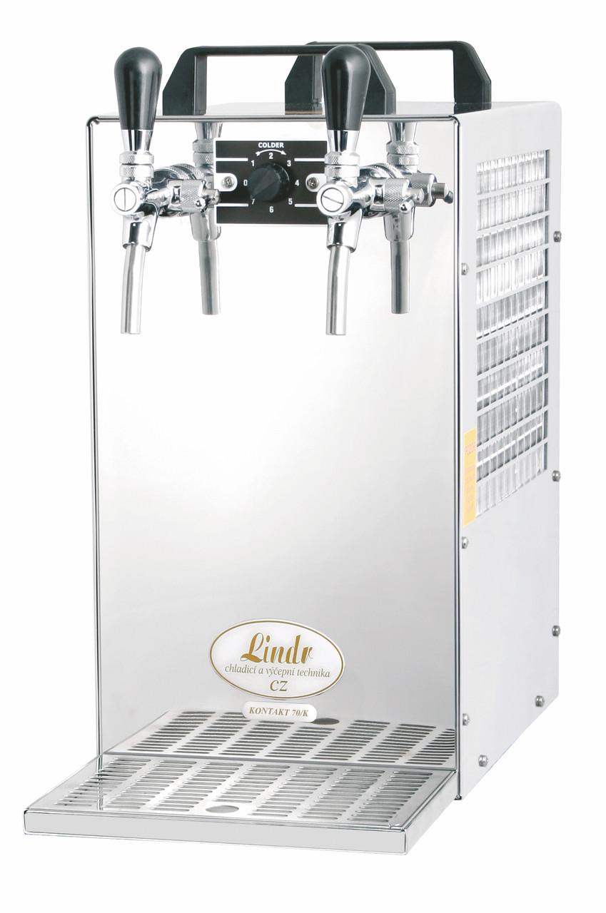 Охладитель пива надстоечный сухой Kontakt 70/K (70 л/ч) насосоc+2 крана Lindr Чехия