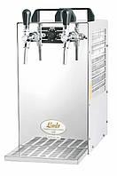 Охладитель пива надстоечный - 70 л/ч - сухой Kontakt 70/K, с насосом, 2 крана, Lindr, Чехия