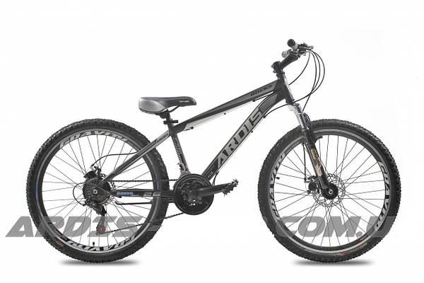 """Горный велосипед ARDIS ROCKS MTB 26"""" 14""""  Черный/Серый"""