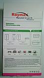 Power Bank Raymax 11000 mAh з дисплеєм, white (Повербанк, 2 USB, ліхтарик, РЕАЛЬНА ЄМНІСТЬ!), фото 9