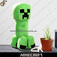 """Плюшевый Крипер из Minecraft - """"Creeper Toy"""" - 27 см."""