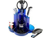 Набір настільний Axent Cascade 2105-02-A на 9 предметів синій