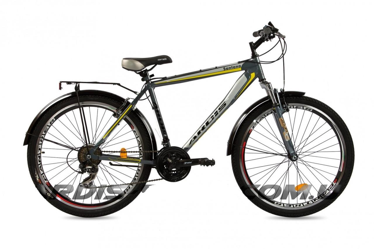 """Городской велосипед  ARDIS SANTANA CTB 26"""" 19""""  Серый"""