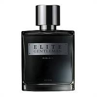 Парфюмерная вода для него Elite Gentleman In Black Avon (Эйвон,Ейвон) 75 мл