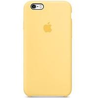 """Оригинальный силиконовый чехол для Apple iPhone 6/6s (4.7"""") Желтый / Yellow"""