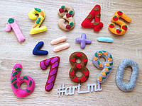 Развивающий набор цифр №2