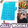 """Силиконовая форма Жевательные червячки - """"Jelly Worms"""""""