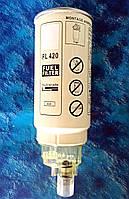 Элемент фильтра топливного сепаратора PL-420 + колба отстойник, фото 1