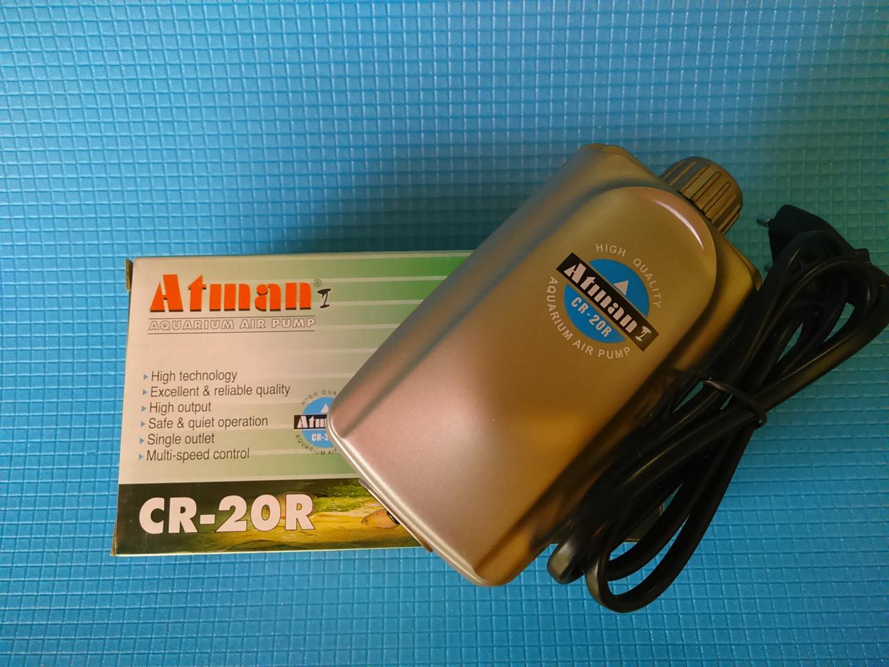 Компрессор Atman CR-20R, 1.5 л/мин, 3.5Вт, с регулировкой мощности