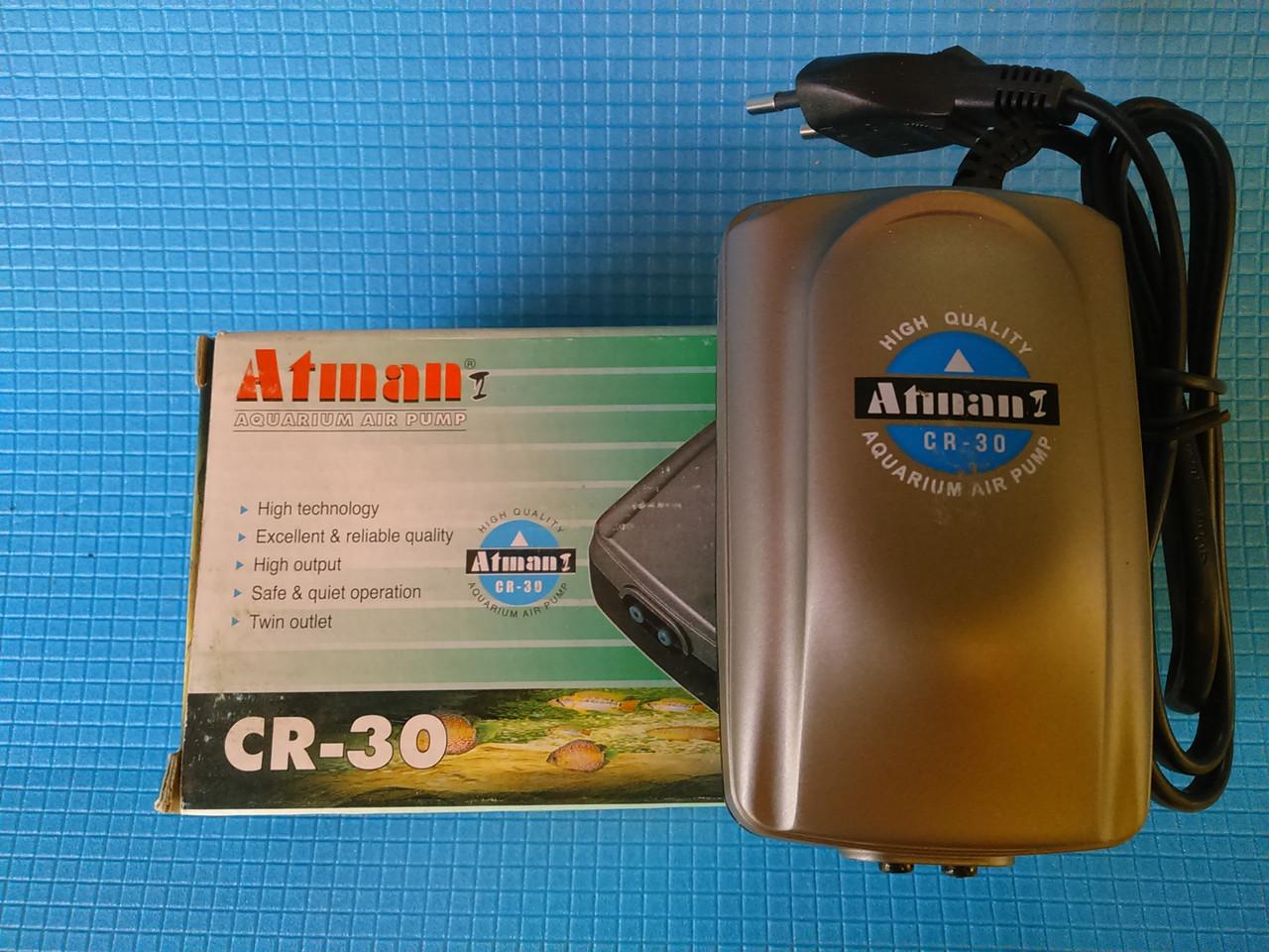 Компрессор Atman CR-30, 3 л/мин, 4Вт