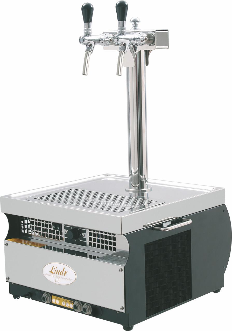 Охладитель пива надстоечный сухой Kontakt-55 (55 л/ч) колонна+2 крана Lindr Чехия