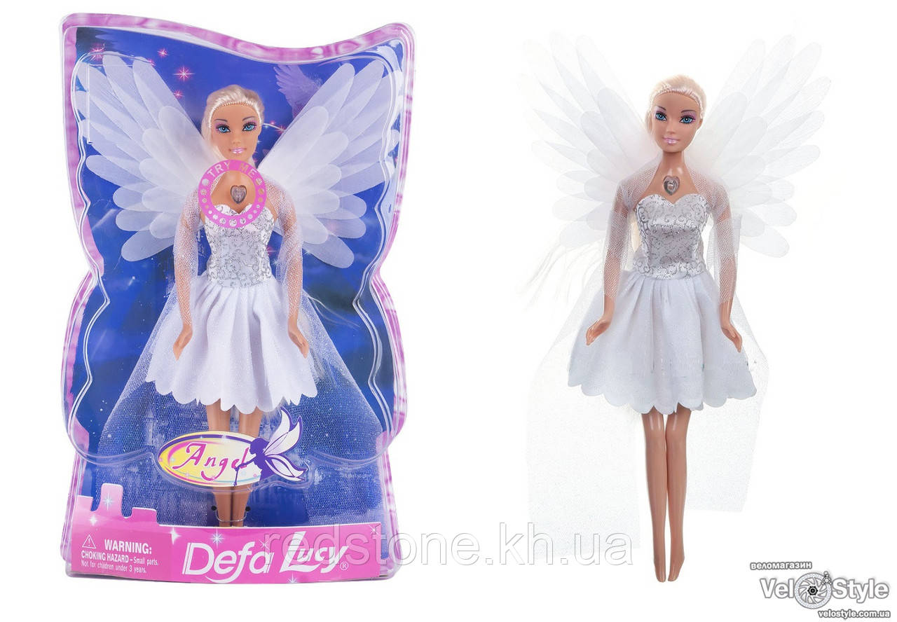 Кукла Defa Lucy Angel Ангел 8219 светящиеся крылья