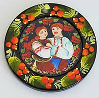 """Украинский сувенир Магнит на холодильник """"Ой у вишневому садочку"""", фото 1"""