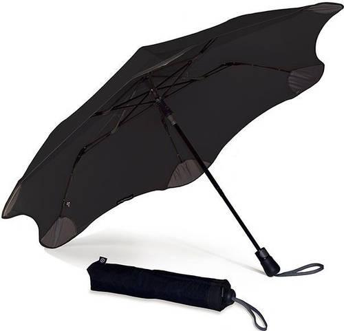 Противоштормовой зонт женский полуавтомат BLUNT (БЛАНТ) Bl-xs-black