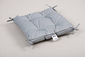 Подушки на стул Lotus 40*40 Optima серая