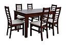 Стол Модерн бежевый 140(+40)*80 обеденный раскладной деревянный, фото 6