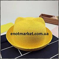 Шляпка детская с ушками, панамка для девочки