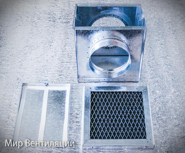 Фильтр жировой кассетный для круглых каналов