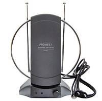 Комнатная антенна  с усилителем DVB-Т2 PROWEST 3.0119 36дБ усиление