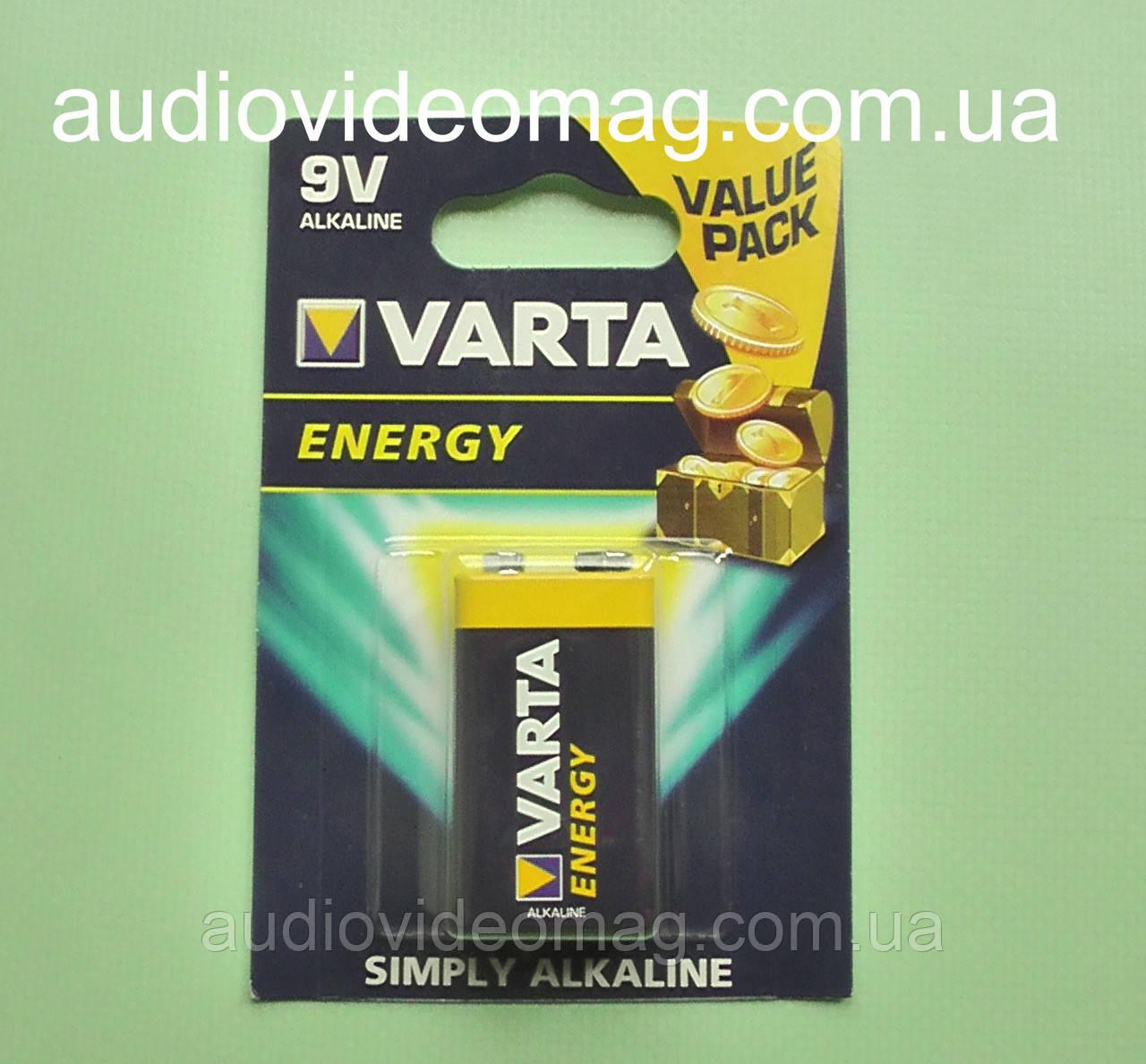 Батарейка Varta 6LR61 9V Аlkaline тип Крона, Корунд