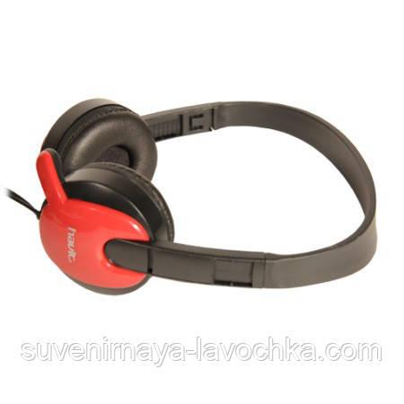 Наушники Havit HV-H607D, красные, с микрофоном
