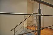 Перила нержавеющие сборные на лестницу, фото 3