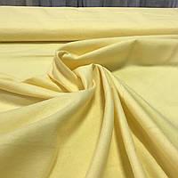 Фланель (байка) желтая однотонная, ширина 95 см