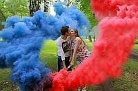 Дымовая шашка для фото, 60 секунд, 5 цветов