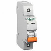 Автоматический выключатель Schneider Electric ВА63 20А 1P С 11204