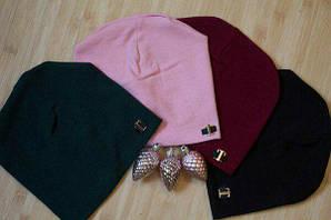 Женская шапка , ангора (выбор цвета)