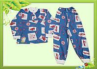 Пижама для мальчика с кулира
