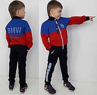 Детский спортивный костюм BMW красный, р.104-152.