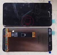 Дисплей модуль HTC One X10 в зборі з тачскріном, чорний