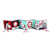 Развивающая книжка-бампер для коляски, кроватки Зебра  Tiny Love (Тини Лав)