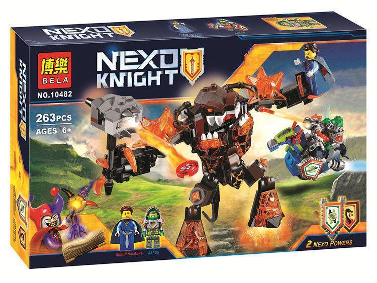 """Конструктор Bela 10482 Nexo Knights (аналог Лего 70325) """"Инфернокс и захват королевы"""", 263 детали"""