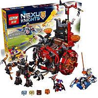 "Конструктор Lepin 14005 Nexo Knights (аналог LEGO) ""Джестро-Мобиль"" 675 деталей, фото 1"
