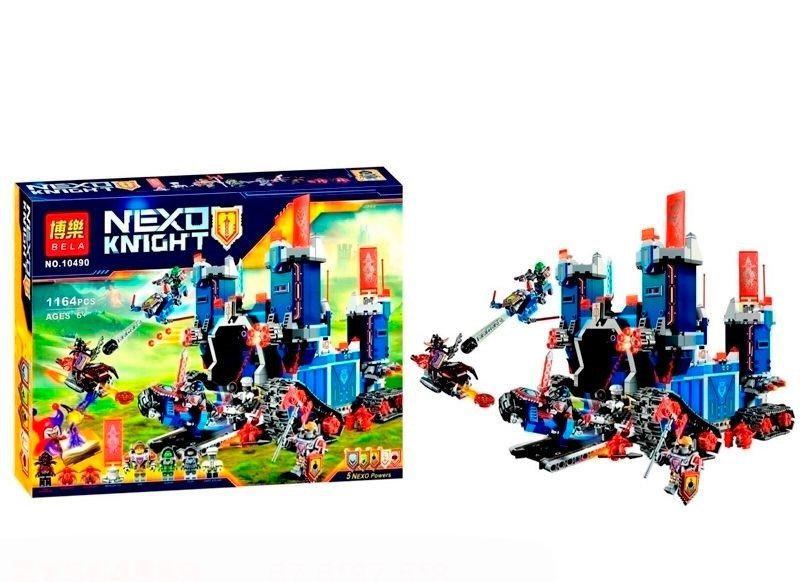 Конструктор Nexo Knights Bela 10490 Мобильная крепость Фортрекс 1164 деталей