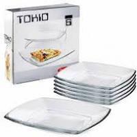 Набор тарелок больших Tokio 265 мм/ 6 шт/  54087