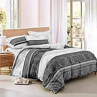 Семейный комплект постельного белья сатин (9049) TM KRISPOL Украина