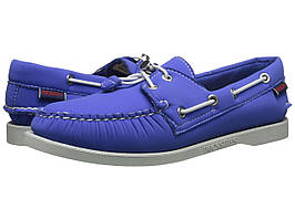 Топ-сайдеры (Оригинал) Sebago Dockside Ariaprene Blue Neoprene