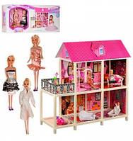 Дом с мебелью и куклами 66884