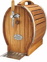 Охладитель вина для домашнего бара - 30 л/ч - сухой, дерево, бочонок, Soudek 30/K, Lindr, Чехия, фото 1