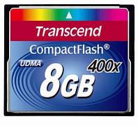 Карта памяти Transcend CompactFlash 400x 8Gb