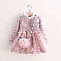 Платье детское нарядное Ханна 1-3 годика