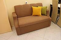 Маленький диванчик для кафе или ресторана (Кричневый)